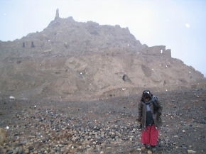 16. Afghanistan: Site of a two thousand-year-old village in Bamyan Province