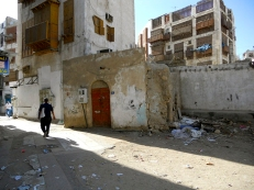 Saudi Arabia: Street scene in Jeddah's Old Town District