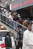 Saudi Arabia: Foreign workers on market day in Battah Souk, Riyadh
